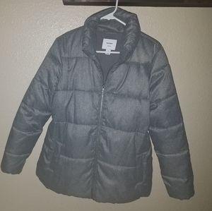 Gray Old Navy Maternity Coat